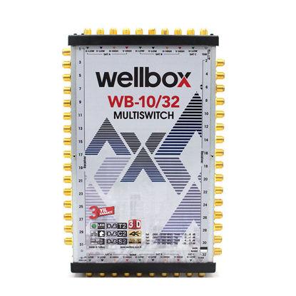 WELLBOX WXM-1032 10X32 MULTİSWİCH resmi