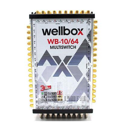 WELLBOX WXM-1064 10X64 MULTİSWİCH resmi