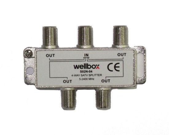 WELLBOX 1/4 5-2400 SPLITTER resmi