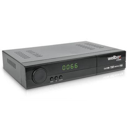 WELLBOX X7000 KASALI HD UYDU ALICI resmi