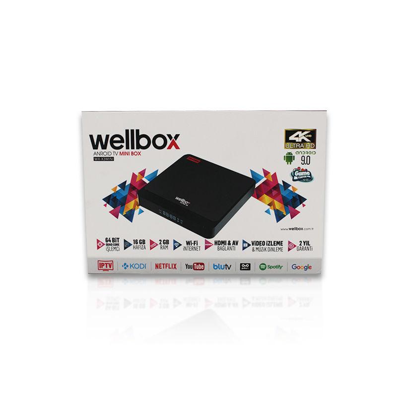 Wellbox X3 Mini 4K Ultra HD Android Tv Box resmi