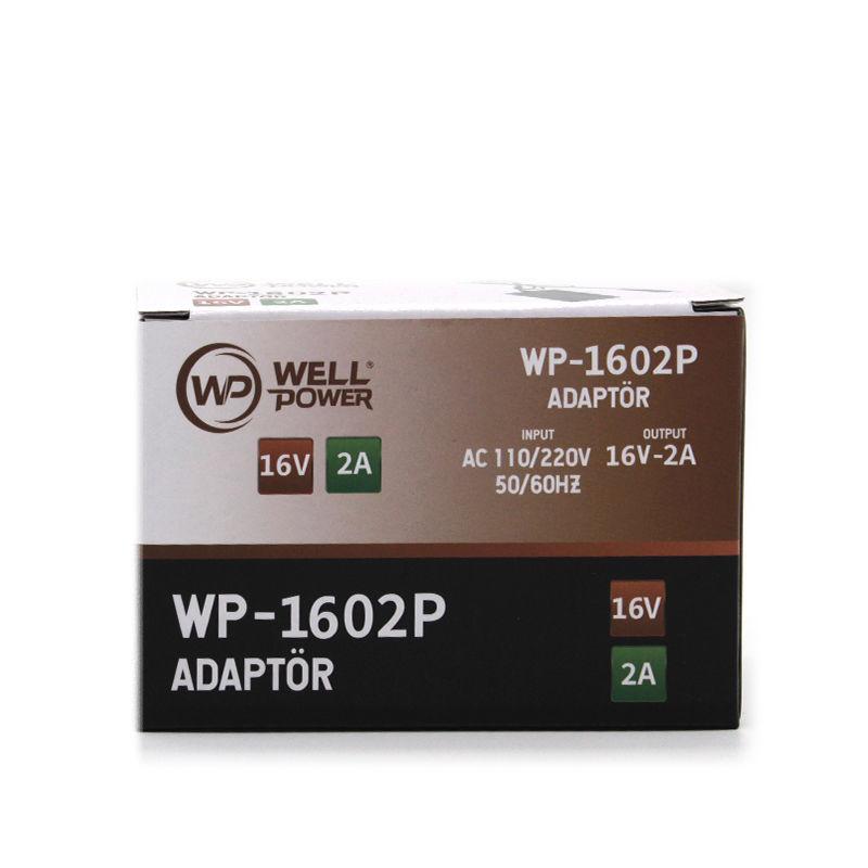 WELLPOWER WP-1602P 16V 2A ADAPTÖR (RCA) resmi