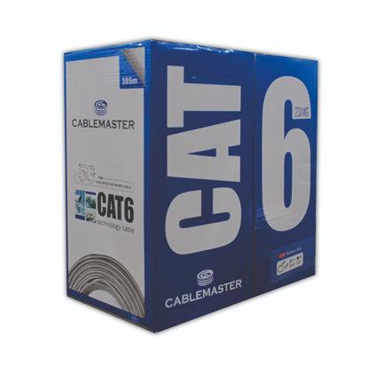 CABLEMASTER CAT6 23 AWG 305M FULL BAKIR resmi