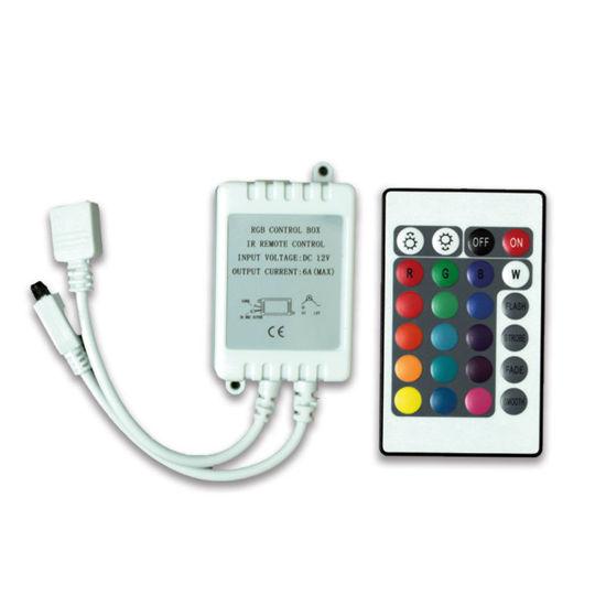 WELLBOX LW-CON019 RGB 6A 24 TUŞ IR LED CONTROLLER resmi