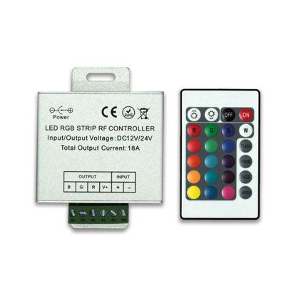 WELLBOX LW-CON004 RGB LED 24 AMP 24 TUŞLU CONTROLLER resmi