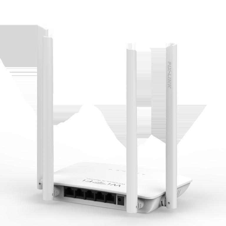 WELLNET PIX-LINK LV-WR08 300Mbps Wireless-N Router resmi
