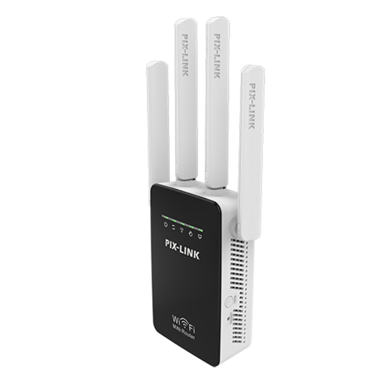 WELLNET PIX-LINK LV-WR09 300Mbps Kablosuz-N Tekrarlayıcı / Yönlendirici / AP resmi