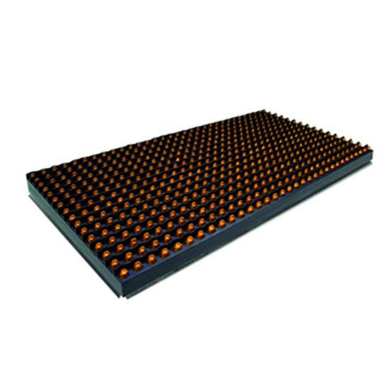 LEDWELL P10 SARI DIP DIŞ 16 X 32 Cm resmi