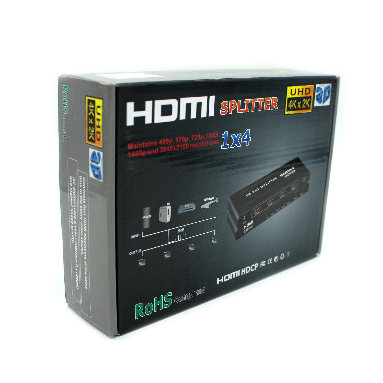 PURELINK HSP0104 1/4 HDMI SPLITTER resmi