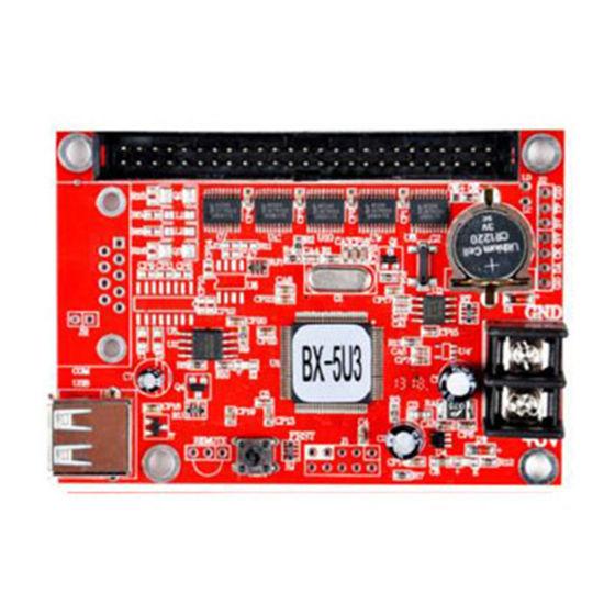 BX-5U3 / 8 SIRA KONTROL KARTI resmi
